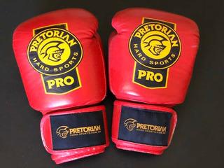 Luva De Boxe Pretorian Profissional - Couro - 12oz