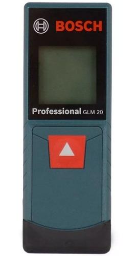 Medidor De Distancia Laser De Hasta 20 Metros Bosch Glm20