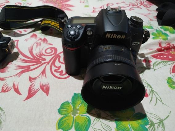 Nikon D7000 + Lente 35mm