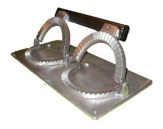 Cierra Empanadas Maquina Repulgadora Aluminio Sella X2 Doble