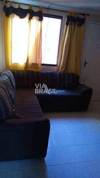 Apartamento Em Condomínio Padrão Para Locação No Bairro Santa Terezinha, 2 Dorm, 1 Vagas, 48 M - 674
