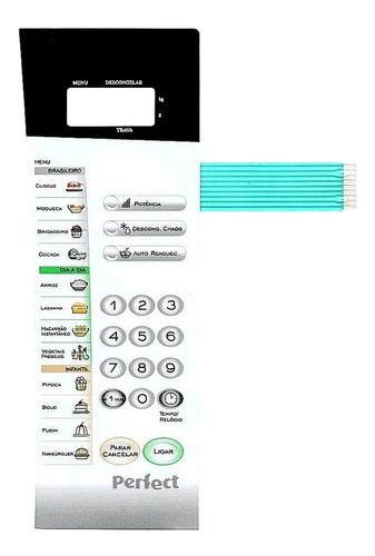 Imagem 1 de 3 de Membrana Teclado Microondas Panasonic Nns56bh Nn S56bk