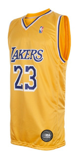 Camiseta Los Angeles Lakers Lebron James Oficial Nba Basket