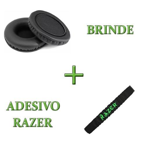 Almofadas Arco Cabeça + Espumas Headset Razer Electra Kraken