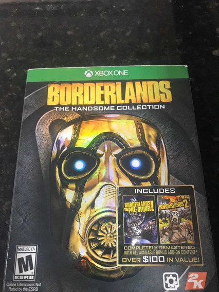 Jogo Xbox One Borderlands The Handsome Collection Física