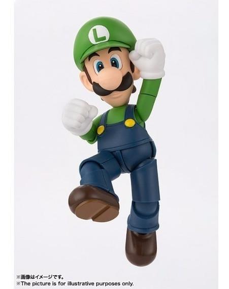 S.h. Figuarts - Luigi - Bandai ( Mario )