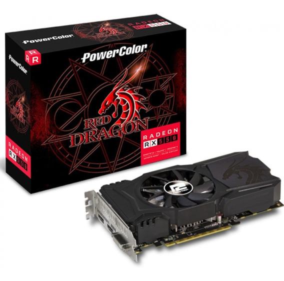Placa De Vídeo Radeon Rx 550 4gb Power Color Red Dragon Ddr5