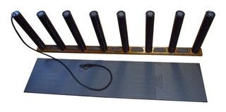 Rack & Suporte Vertical 7 Pranchas + Protetor De Chão