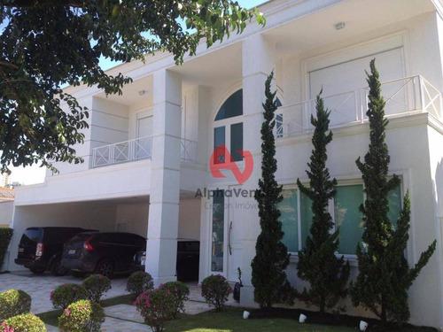 Imagem 1 de 30 de Casa Com 4 Dormitórios À Venda, 500 M² Por R$ 7.500.000,00 - Alphaville - Barueri/sp - Ca6171