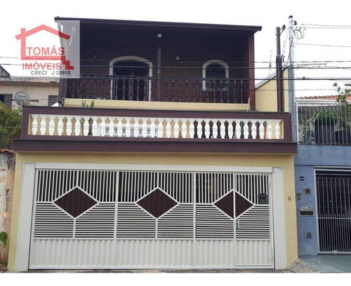 Sobrado Residencial À Venda, Pirituba, São Paulo. - So0658