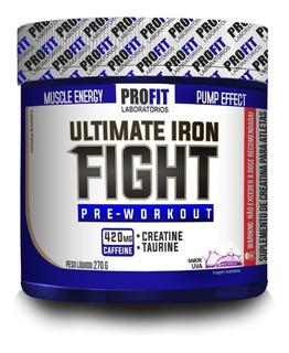 Pré-treino Ultimate Iron Fight - 270g - Profit Laboratórios