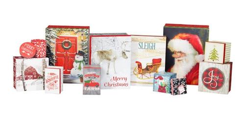 Imagen 1 de 1 de 12 Cajas De Lujo Para Regalos De Navidad, Varios Modelos