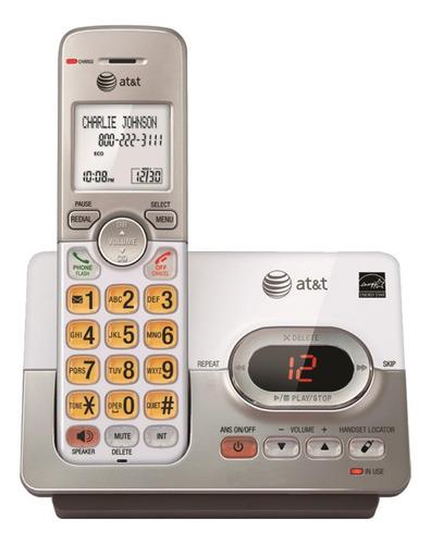 Imagen 1 de 3 de Teléfono inalámbrico AT&T EL52303 plateado