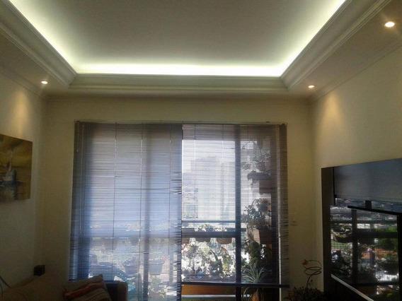 Apartamento 2 Dormitórios Sendo 1 Suite ( Vago ) À Venda, 63,00 M² Por R$ 349.000 - Vila Floresta - Santo André/sp - Ap0330