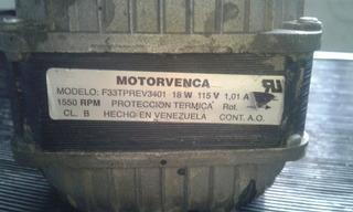 Motorvenca 18w Y 34 W 110v.