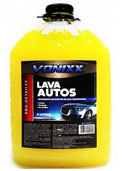 Produto Para Lavar Carro Moto 5lts Shampoo Automotivo Vonixx
