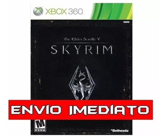 The Elder Scrolls V Skyrim Xbox 360 - Mídia Digital
