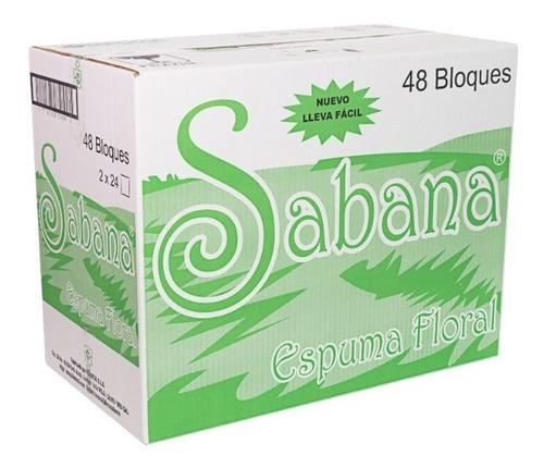 Espuma Floral Sabana - Caja Por 48 - Unidad a $1040