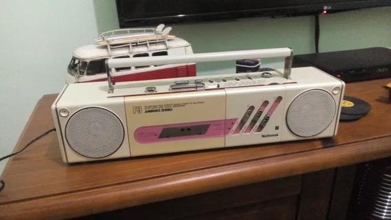 Rádio Retro Vintage National Anos 80 Japan