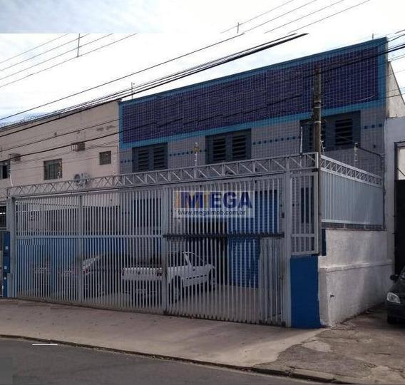 Barracão Para Venda Ou Locação, 300m² Por R$ 1.350.000,00/r$ 6.000,00 Jardim Do Lago - Campinas/sp - Ba0024