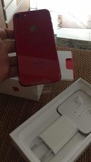Celular iPhone 7 Vermelho 256gb