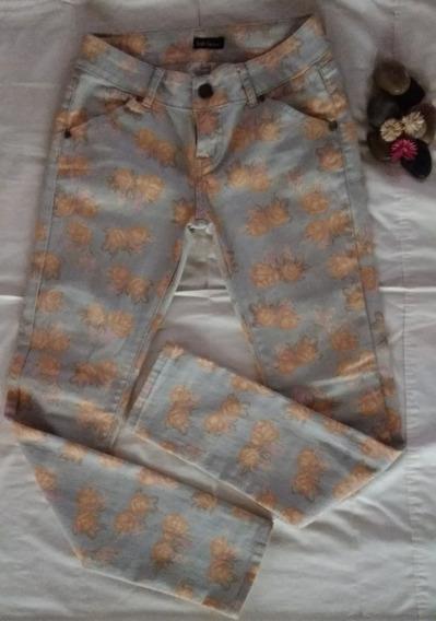 Pantalos Stretch Estampado Para Damas