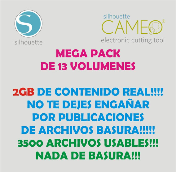 Silhouette Archivos De Corte Mega Pack Deluxe!!! Curio Cameo