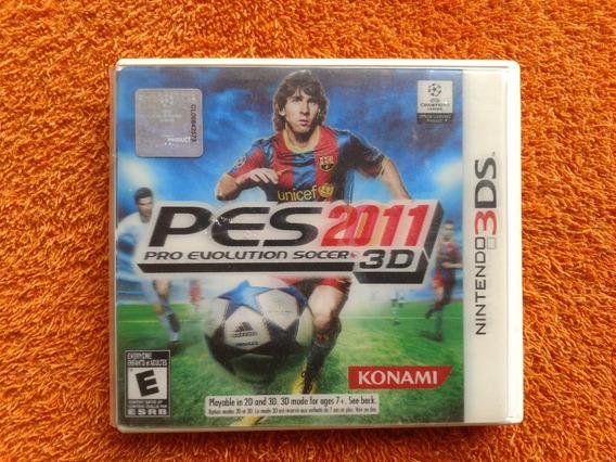 Pro Evolution Soccer 2011 Pes 2011 3d Nintendo 3ds Frte R$13