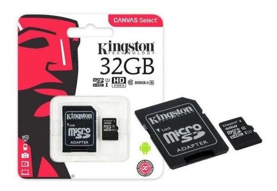 Cartão De Memória Micro Sd 32 Gb Kingston