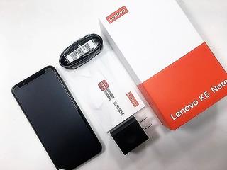Lenovo K5 Note Azul Lector Huellas 3gb/32gb Remate (110trp)