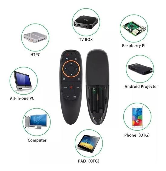 Air Mouse G10s 2.4ghz Busca Por Voz - Mini Pc Tv Box Android