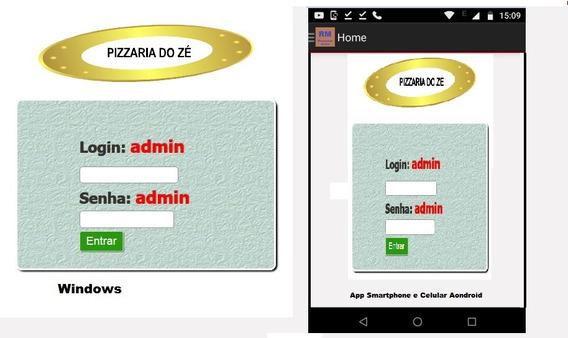 Sistema Online Para Pizzaria Bares E Restaurantes Php Mysql