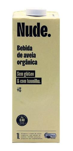 Imagem 1 de 1 de Bebida De Aveia Organico Baunilha Nude 1l