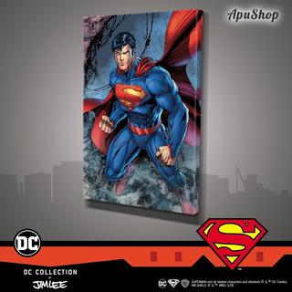 Cuadros Lienzo 90x60 Dc Comics Oficial Jim Lee Superman