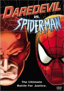 Dvd : Daredevil Vs Spider-man (dvd)