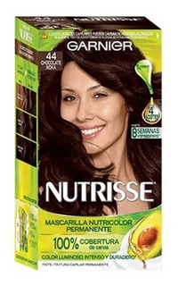 Kit Tintura Garnier Nutrisse Color 44 Chocolaste Moka