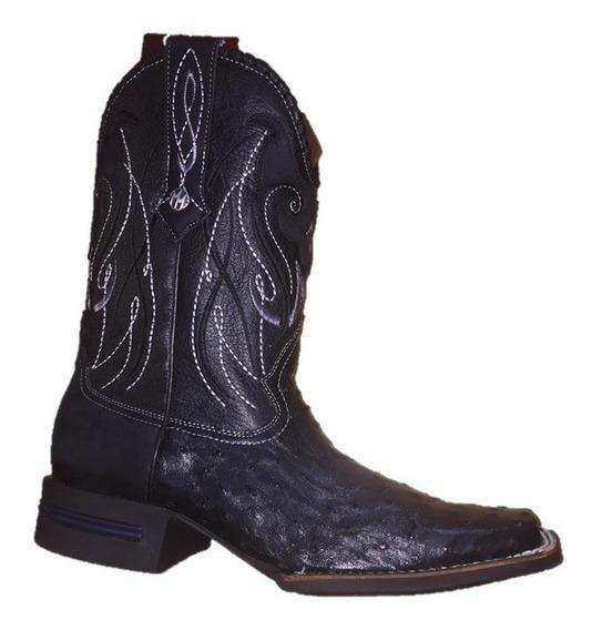 Bota Montana Pro Rodeo Avestruz King Pr208a1