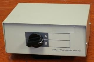 Data Transfer Switch Db25 Paralelo De 2 Canales Centro