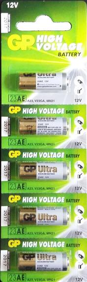 Bateria Gp 23a A23 V23ga Mn21 12v 5un 23af-2c5