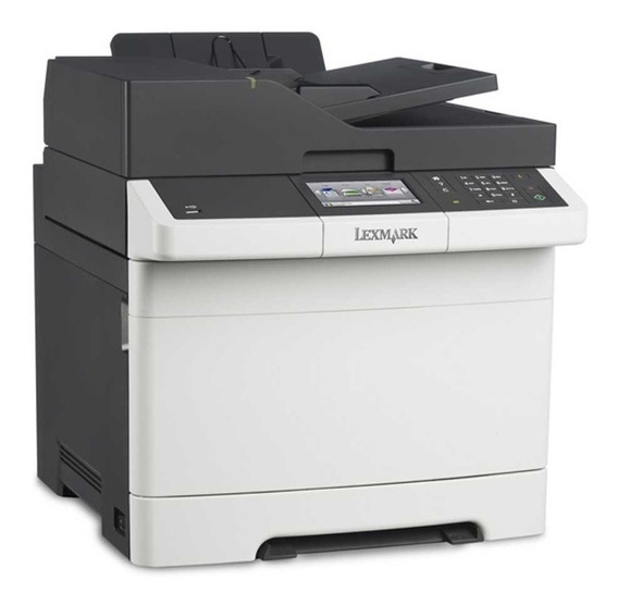 Impresora Laser Color Lexmark Cs417 Duplex Red Oferta