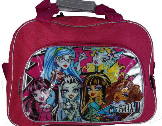 Bolso Morral Con Correa Footy Monster High Mmh-127