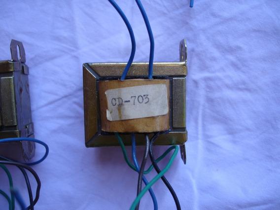 Transformador Original Do Tape Deck Cce Cd-703