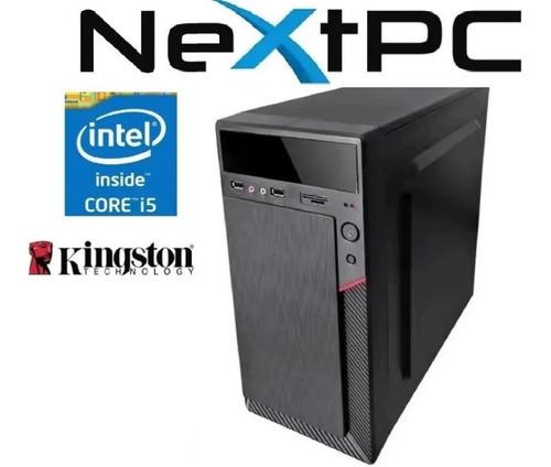 Imagem 1 de 1 de Cpu Computador Nextpc Intel Core I5 8gb Ssd 240gb Kingston