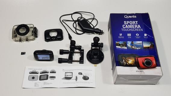 Câmera Digital Esportiva Quanta Qtsc200ts Estilo Go Pro