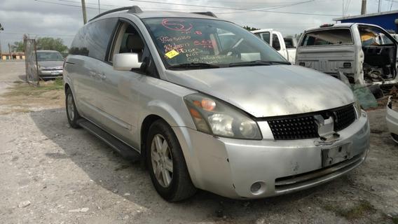 Nissan Quest 2004 ( Para Partes Y Refacciones ) 2004 - 2009