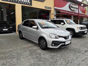 Toyota Etios Platinum Sd Automatico Flex 2017