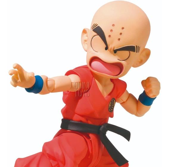 Kid Kuririn - Dragon Ball - Sh Figuarts - Bandai - Lacrado