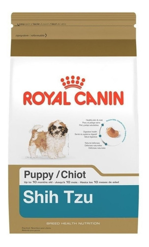 Imagem 1 de 2 de Alimento Royal Canin Breed Health Nutrition Shih Tzu para cachorro filhote de raça pequena sabor mix em saco de 1kg