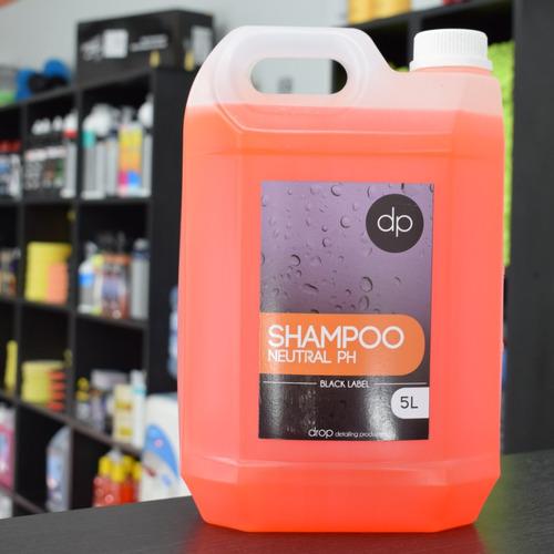 Imagen 1 de 3 de Drop Detailing Neutral Shampoo Con Cera 5 Litros