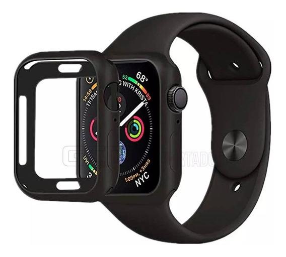 Case Bumper Para Apple Watch Borracha 38mm 40mm 42mm 44mm